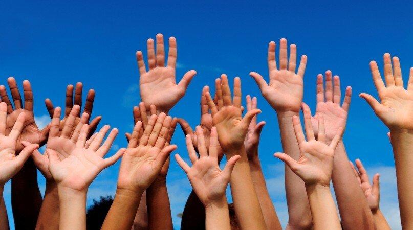 Volunteerism Community Hands