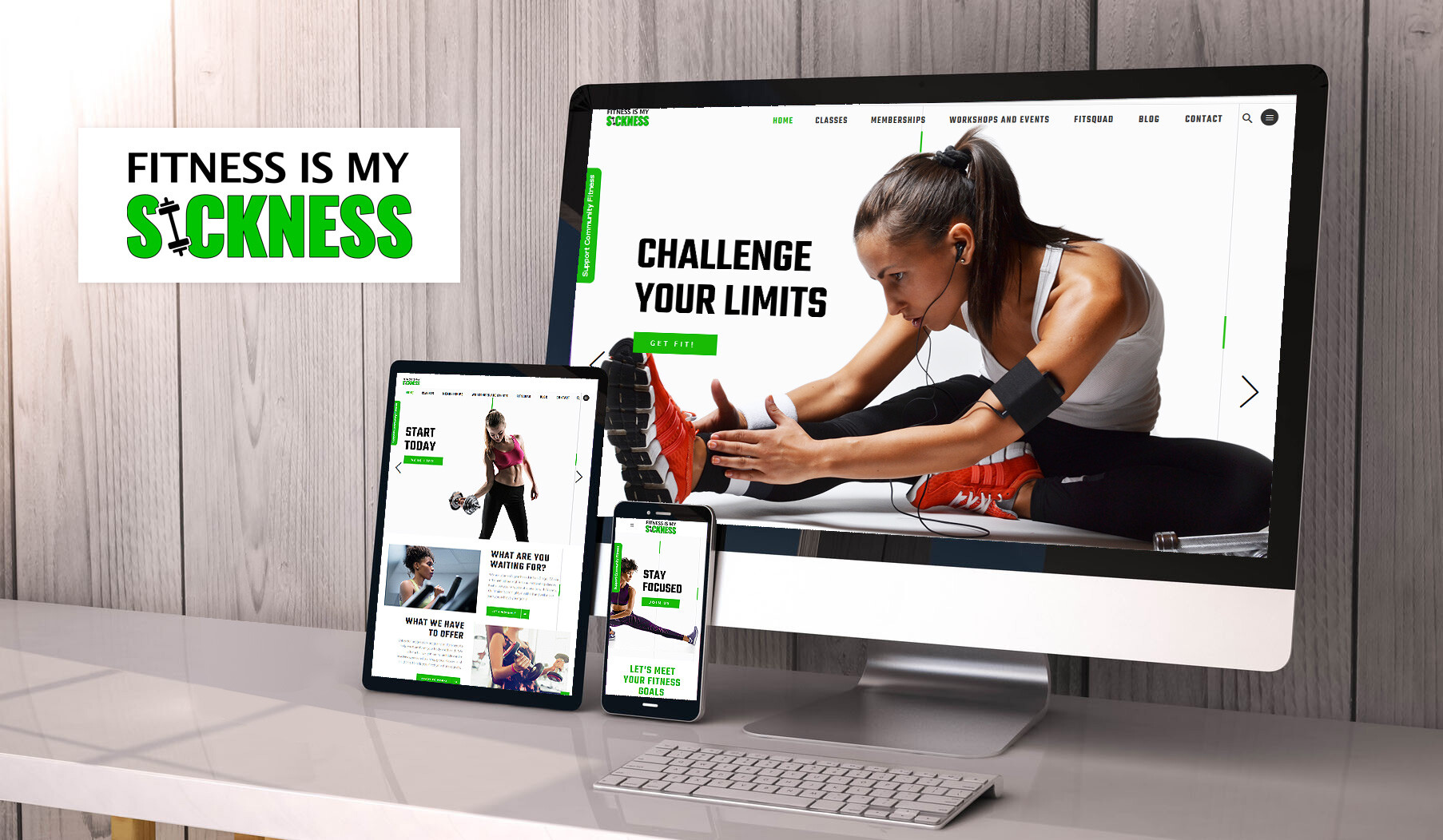 Fitness is my sickness website