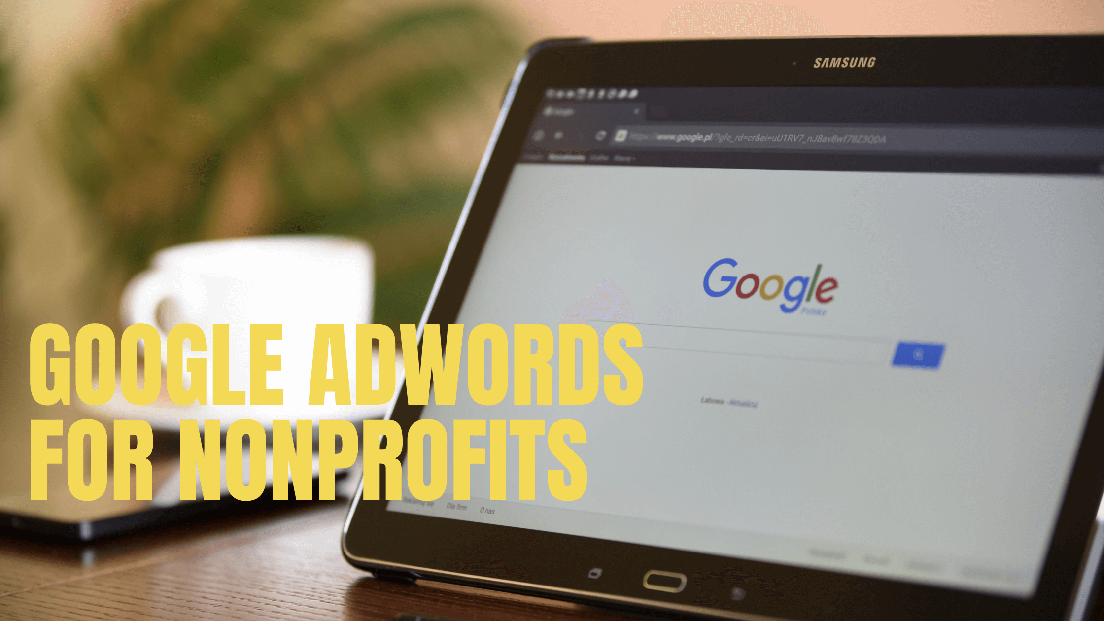 google adwords nonprofits